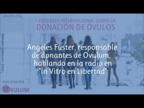 """Ovulum en la radio hablando sobre Donación de óvulos en """"In Vitro en Libertad"""""""